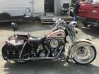 1997 Harley Davidson Softail Heritage Springer White with red Stripe Collectors