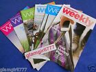 WEIGHT WATCHERS Weeklies 2012 and 2013 NEW Lot of 6