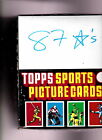 1987 TOPPS Unopened Rack Box - 24 count