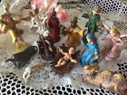 Vintage Nativity Set Italy Colorful Resin