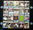 1964 TOPPS BASEBALL CARD IN EX OR BETTER COND FINISH YOUR SET (BUY ONE OR ALL)