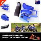 For Yamaha PW80 PY80 BLUE Plastic Fender FAiring Body Seat (BLK) Gas/Fuel Tank