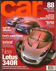 OCTOBER 1999 CAR MAGAZINE LOTUS 340R, PORSHCE 911 GT3, VW GOLF, FORD PUMA
