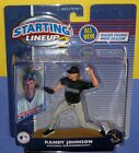 2001 RANDY JOHNSON Arizona Diamondbacks final year 4 Starting Lineup Hasbro NM+