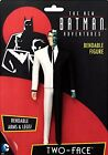 TWO FACE the new Batman Adventures Animated Series Bendable Villain DC Comic toy