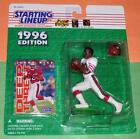 1996 JERRY RICE San Francisco 49ers frisco forty niners Starting Lineup NM+