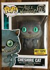 Alice in Wonderland Cheshire Cat flocked fuzzy Hot Topic Exclusive Funko Pop New