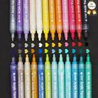 Acrylic Paint Markers Pens Set  Taotree 24 Color Medium Point Tip Art Permanent
