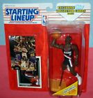 1993 CLYDE DREXLER #22 final Portland Trailblazers Starting Lineup -FREE s/h- NM