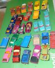 30 VINTAGE LESNEY MATCHBOX CARS TRUCKS FROM ENGLAND FOR RESTORE OR PARTS