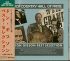 Don Gibson - Best Selection - RCA Country Hall Of Fame (CD, Japan) - Classic ...