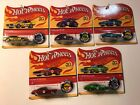 Hot Wheels 2018 50th Ann Orig Redlines Series Complete Set of 5 FREE SHIPPING