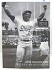 Rickey Henderson Cards, Rookie Card and Autographed Memorabilia Guide 13