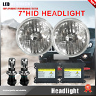NEW! H4 HID Light Bulbs 6000K White Hi/Lo beam 7