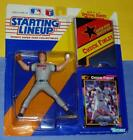 1992 CHUCK FINLEY LA Cali Angels Rookie -FREE s/h- sole Starting Lineup + poster