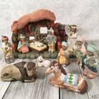 12 Piece Porcelain Southwest Native American Indian Christmas Nativity Set