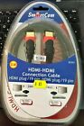 HDMI to HDMI Cabel 2m New in Box Perfect Condition 19 Pin