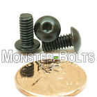 8-32 Button Head Socket Cap Screws Alloy Steel Thermal Black Oxide Coarse Sae