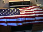 USA EMBROIDERED 3x5 Cotton American Flag MADE IN US NEW