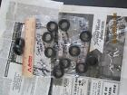 Model  Car Tires 1/24/25 scale Item #RB11 Tires for your Diorama