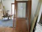 Antique Craftsman Style Entry Door With Glass1930's Fir Architectural Salvage