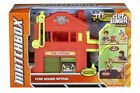 Matchbox Cliff Hangers Fire Station Toy Play Set