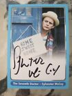 Dr Who Definitive Trading Card Autograph Sylvester McCoy Strictly Ink 2000 A4