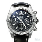 Breitling Windrider Blackbird 44mm Automatic Chronograph Watch Date A4435910