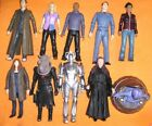 Tenth DOCTOR WHO 10x Lot Cyberman Rose Donna Scarecrow Mickey Jack Moxx Jadoon