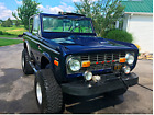 1971 Ford Bronco Sport Iconic 1971 Ford Bronco Sport Half Cab