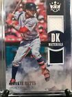 Mookie Bets 2018 Diamond Kings Dual Jersey Rare Hot Red Sox