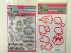Pink and Main AIRMAIL Love Birds Clear Stamp Set PM0219  DIE PNM087