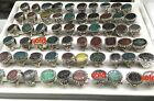 925 Sterling Silver Unique Handmade Islamic Mens Rings natural Aqeeq free select