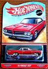 Low  Hot Wheels 2014 Red Line Club RLC 64 Pontiac GTO Special Limited Edition