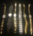 Awesome Lot Of 6 New & Used Watches Xanadu, Geneva, Mudd, Madison, Gruen, Rolez