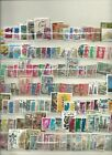 World stamp lot 140 ALL DIFFERENT USED STAMPS nice mix FREE USA SHIPPING