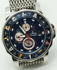 Men's Corum Admiral's Cup Tides 44 Chronometer automatic watch with Box+Papers