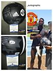 PAUL POGBA SIGNED MANCHESTER UNITED BALL 2018 WORLD CUP FRANCE SIGNED BAS [a