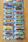 HOT WHEELS 2010 FASTER THAN EVER COMPLETE SET OF 10 + 6 VARIATIONS