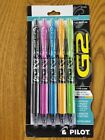 Pilot G2 Fashion Collection Gel Roller Pens Fine Point Assorted Ink Colors