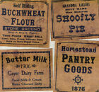 Fav A Set 26 Jelly Cupboard Primitive Country Farmhouse Pantry Labels