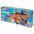 Hot Wheels Sto n Go Playset Brand New Discontinued 2016 Target exclusive