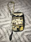 Vers Bradley Wallet Cell Phone Chain Yellow Black