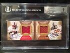 Eric Dickerson & Earl Campbell - 2013 Exquisite Dual Auto Relic SN 6 10 - BGS 9