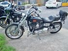 2000 Harley Davidson FXDWG 2000 Harley Dyna Wide Glide Very Clean Lots of Chrome Low Mile BikeW Extras