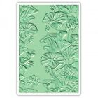 Sizzix 3 D Textured Impressions Embossing Folder Lily Pond by Courtney 661950