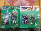 Starting Lineup 1997 1998 Joey Galloway and Chris Warren Seattle Seahawks NFL