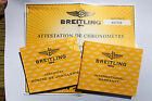 Breitling COSC Warranty Booklet Limited Certificate Matching A13356 Windrider