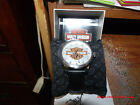 76A145 - Harley-Davidson® Mens B&S with Diamond Plate Background Black Watch 76A