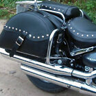SUZUKI VL800 VOLUSIA C800 INTRUDER C50 M800 REAR SADDLEBAG CHROME BARS GUARDS